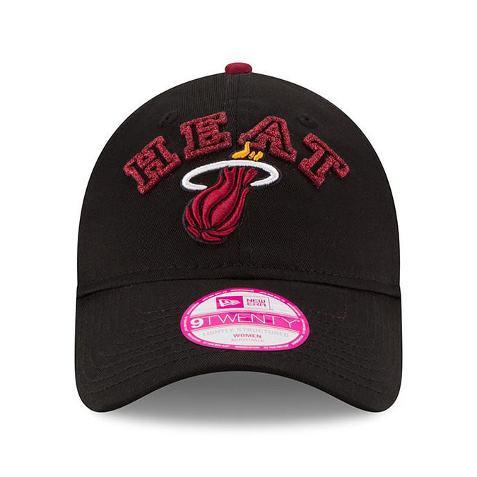 New ERA Miami HEAT Ladies TEAM SHIMMER AdjustableCap - featured image