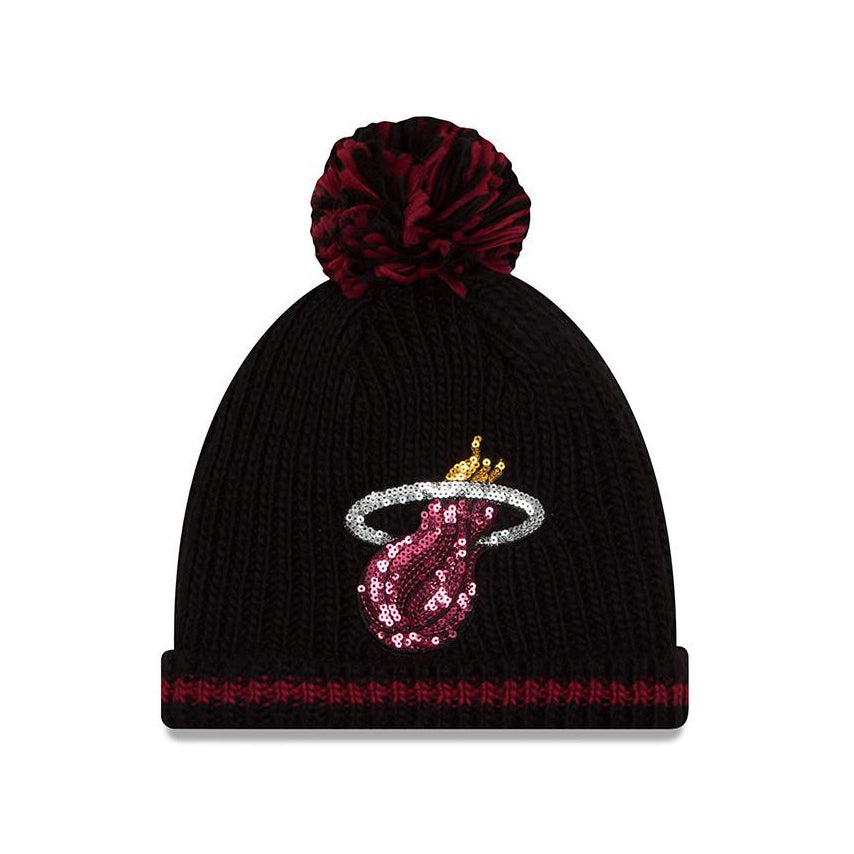 New ERA Miami HEAT Ladies Sequin Frost Knit - featured image