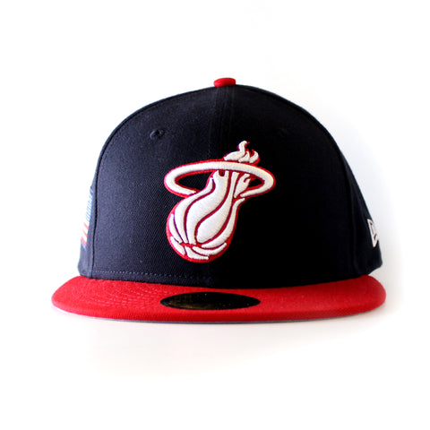 New ERA Miami HEAT Country Colors Redux Fitted