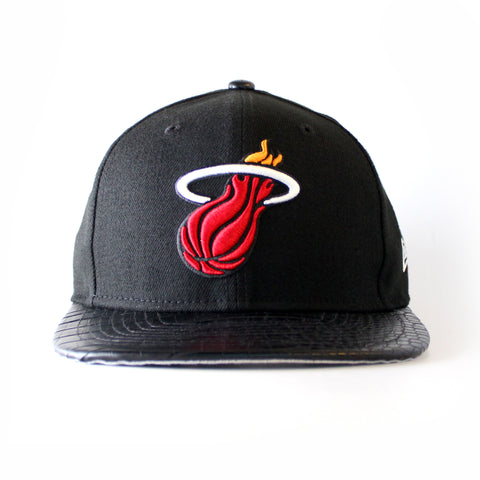 miami heat new era TEAM LUXE STRAPBACK