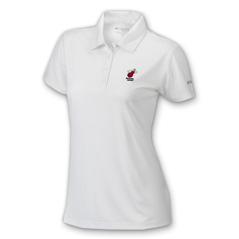 Columbia Sportswear Miami HEAT Ladies Birdie Polo