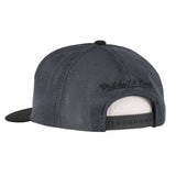 Mitchel & Ness Miami HEAT Dark Horizontal Panel Snapback - 2