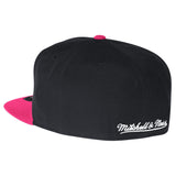 mitchell and ness miami HEAT THROWBACK FITTED - 2