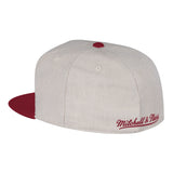 mitchell and ness miami heat CREAM OXFORD FITTED - 2
