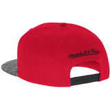 Mitchell & Ness Miami HEAT Grey Noise Snapback - 2