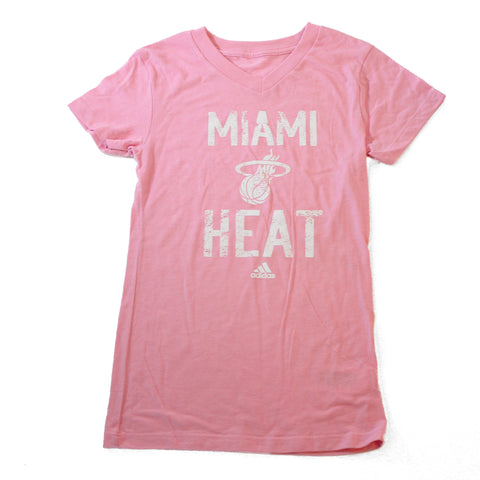 Miami HEAT Girls Straight Up VNeck