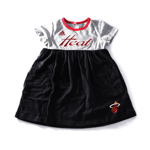 adidas  Miami HEAT Girls Baby Doll Dress