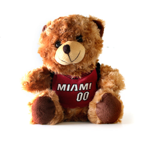Miami HEAT Bear With Jersey