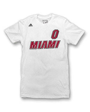 Josh Richardson Miami HEAT adidas Legacy Name and Number T-Shirt