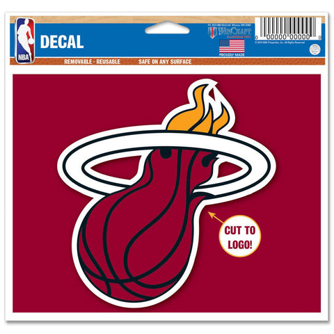 Miami HEAT Decal