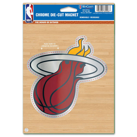 Miami HEAT Chrome Magnet