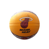 Spalding Miami HEAT Camo Grid Mini Basketball - 3