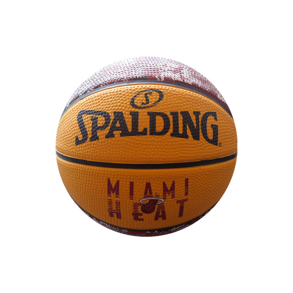 Spalding Miami HEAT Camo Grid Mini Basketball - featured image