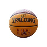 Spalding Miami HEAT Camo Grid Mini Basketball - 1