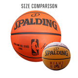 Spalding Miami HEAT Camo Grid Mini Basketball - 2