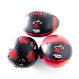 Baden Sports Miami HEAT Polystuffed 3 Pack Mini Balls - 2