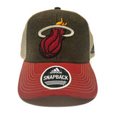adidas Miami HEAT Mesh Back Structured Snap Back - 1
