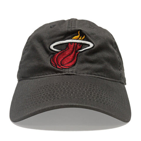 adidas Miami HEAT Garment Washed Adjustable Slouch Cap