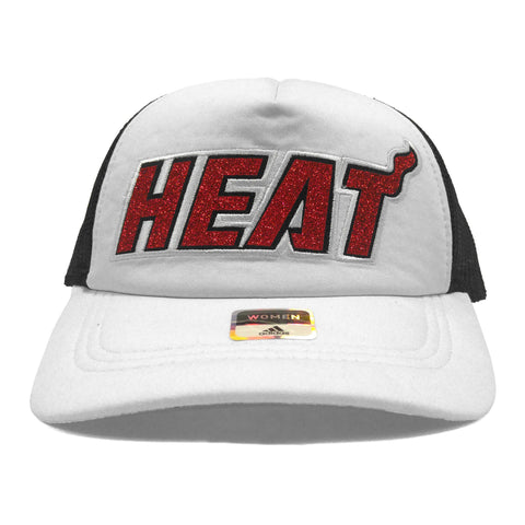 adidas Miami HEAT Ladies Trucker Hat