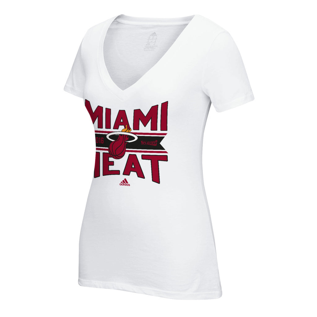 adidas Miami HEAT Ladies Banner T-Shirt - featured image