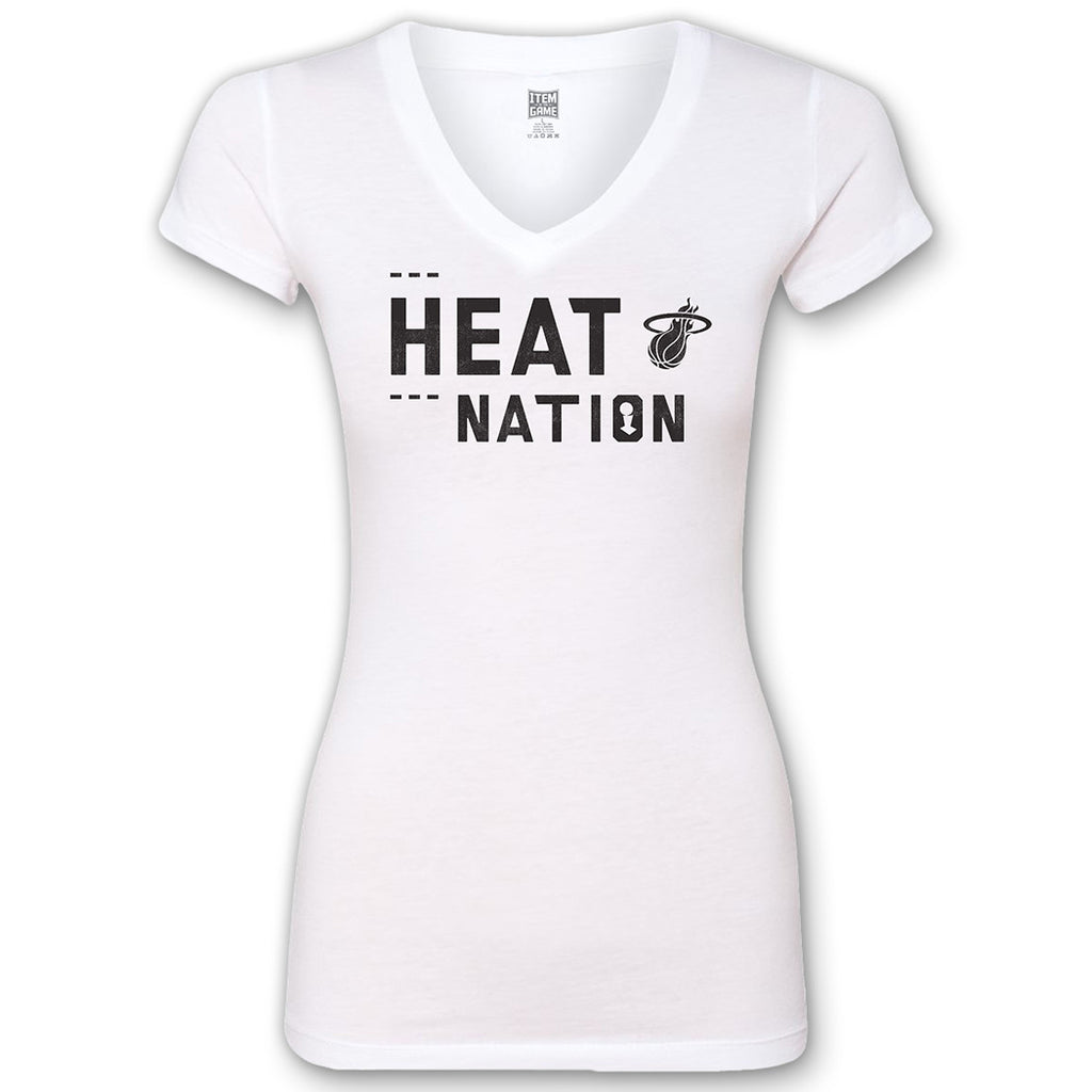 Miami HEAT Nation Ladies Tee - featured image
