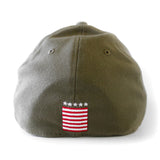 New ERA Home Strong Miami HEAT Military Stretch Cap - 2