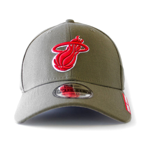 New ERA Home Strong Miami HEAT Military Stretch Cap