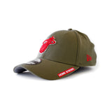 New ERA Home Strong Miami HEAT Military Stretch Cap - 4