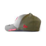 New ERA Home Strong Miami HEAT Military Stretch Cap - 3