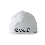 New ERA Miami HEAT White Tie Stretch Fit Cap - 2