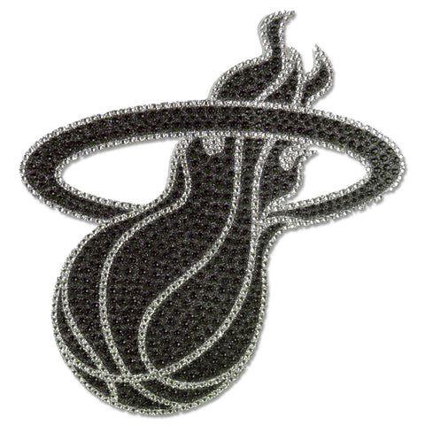 Miami HEAT Bling Emblem Sticker