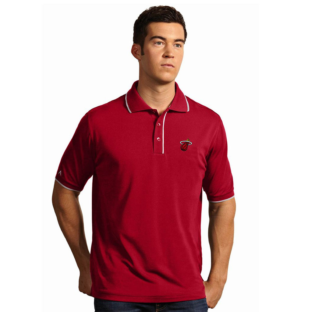Antigua Miami HEAT Elite Polo Red - featured image