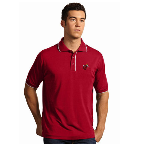 Antigua Miami HEAT Elite Polo Red