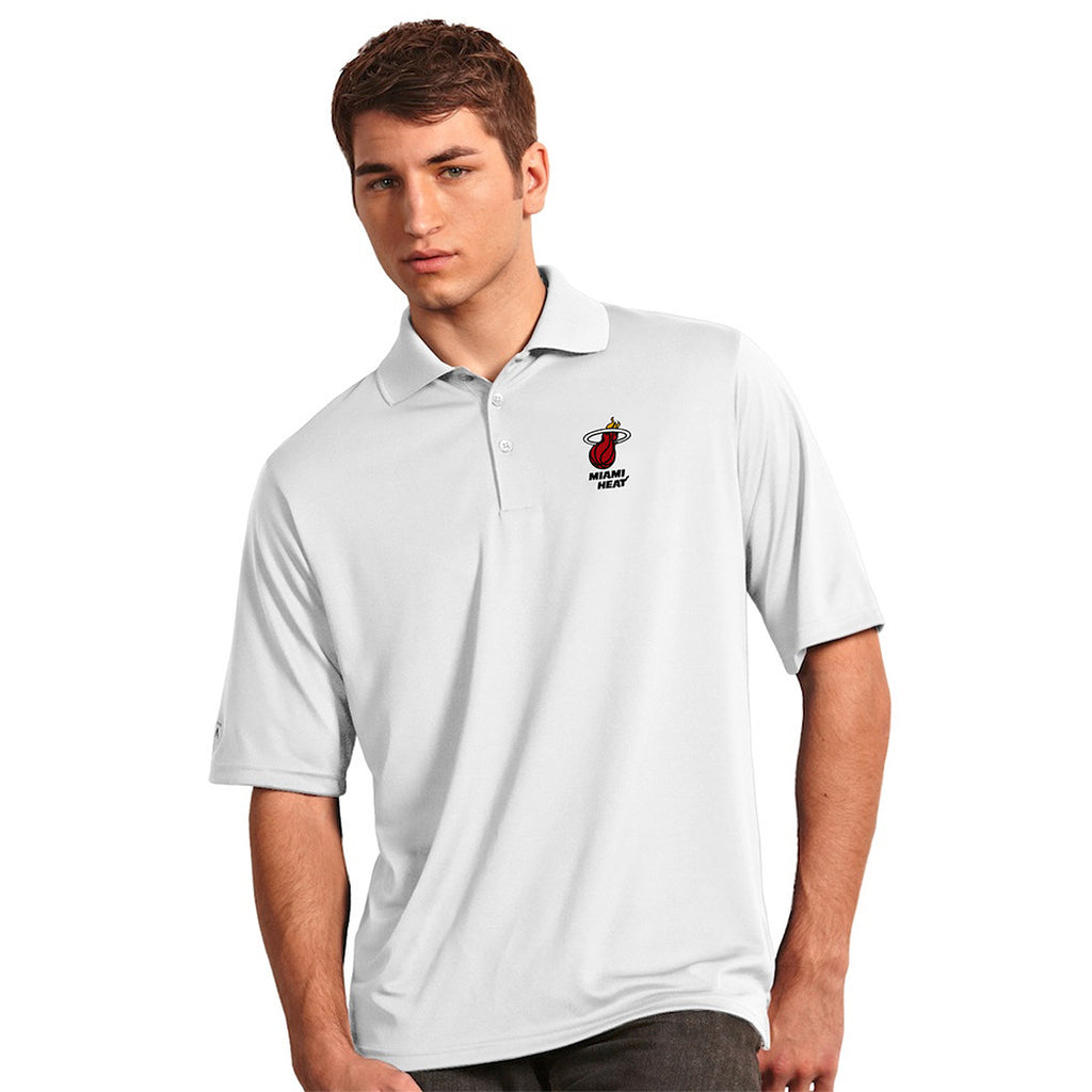 Antigua Miami HEAT Exceed Polo - featured image