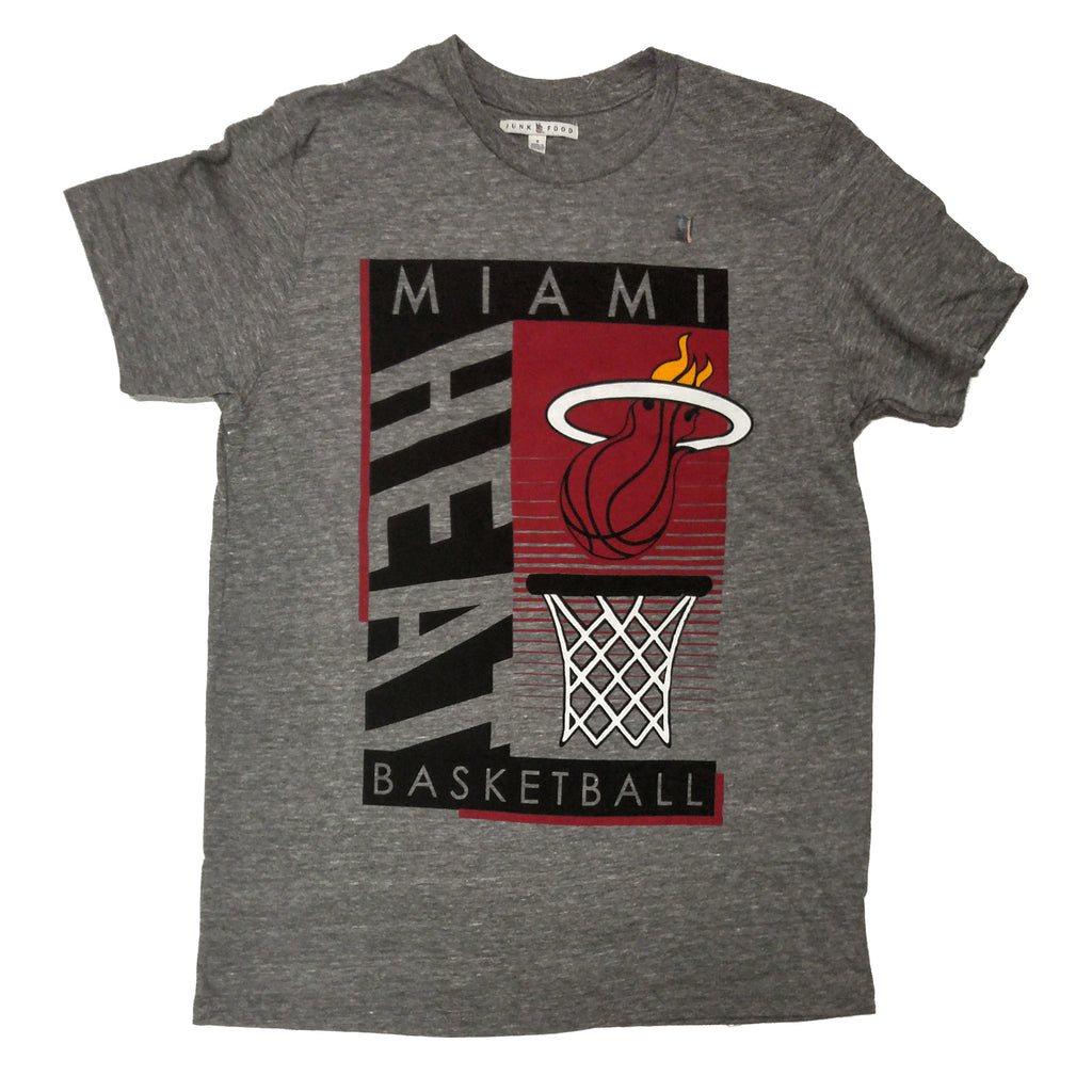 Junk Food Miami HEAT Mens Triblend Tee - featured image