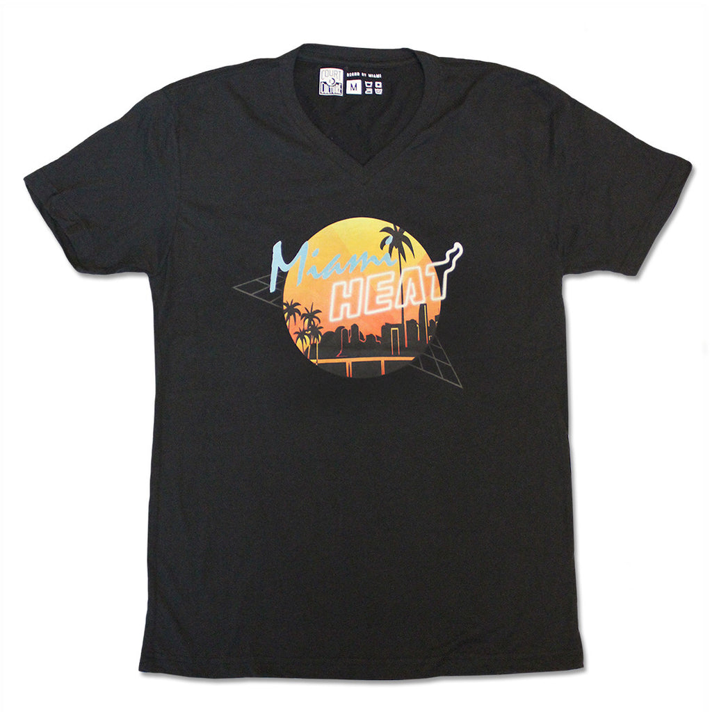Court Culture Miami HEAT Retro VNeck - featured image