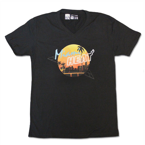 Court Culture Miami HEAT Retro VNeck