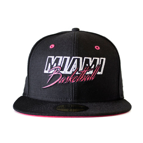 Court Culture Miami Basketball Fitted