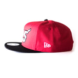 Court Culture Miami HEAT 305 Red and Black Snapback - 4