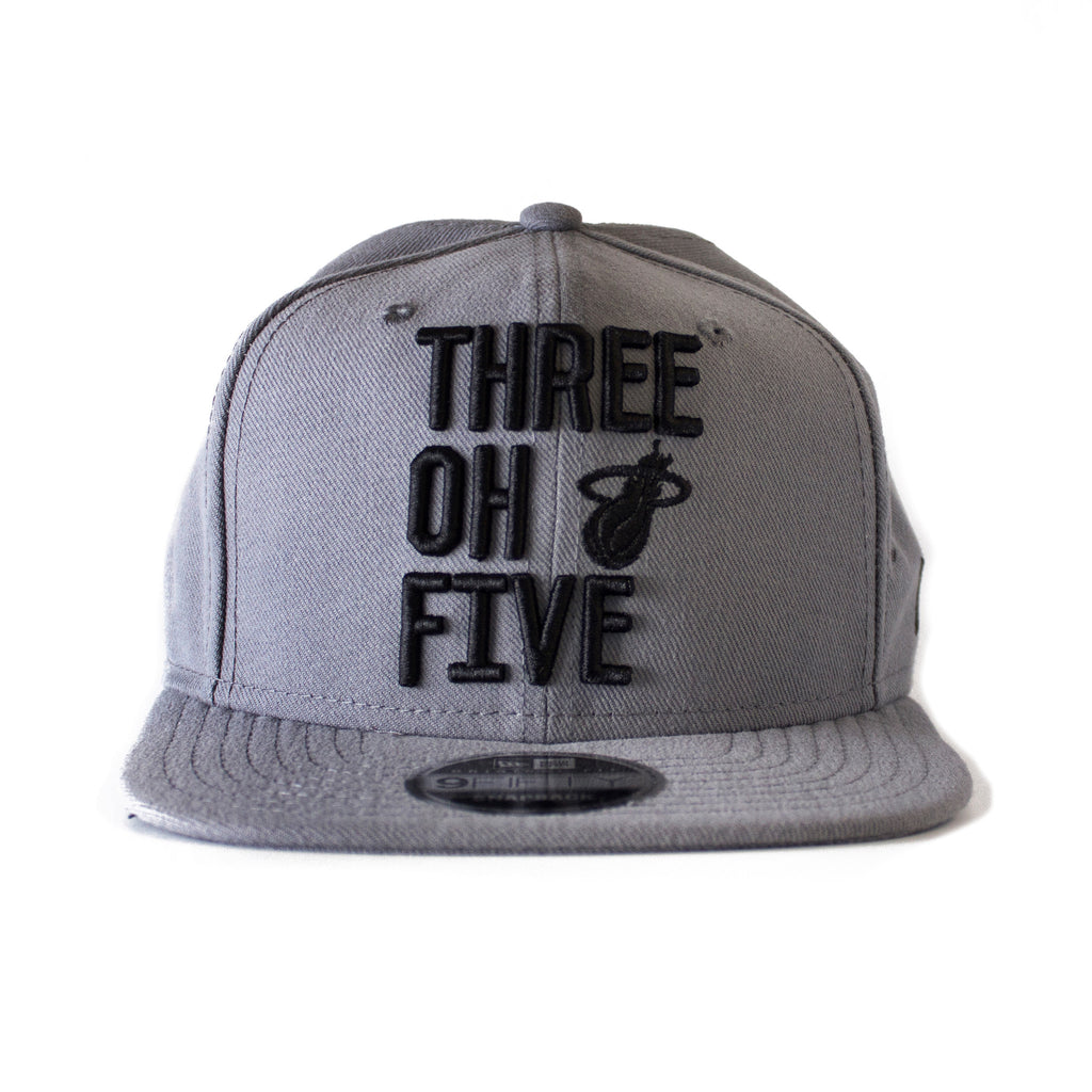court culture miami heat THREE OH FIVE Snapback - featured image