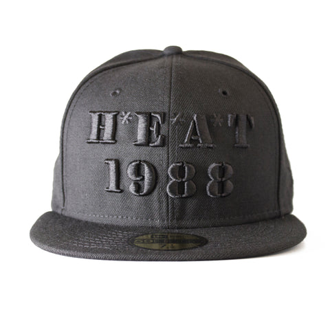 court culture miami HEAT 1988 FITTED