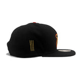 New ERA Miami HEAT Gold Flip Snapback - 4