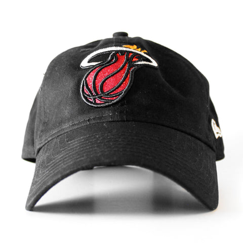 New ERA Miami HEAT Ladies Team Glisten LS Adjustable