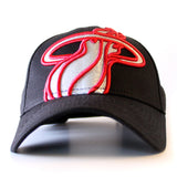 New ERA Miami HEAT Ladies Glitter Glam 3 Adjustable Cap - 1