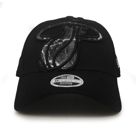 Miami HEAT Ladies Glitter Glam Marble Adjustable Cap