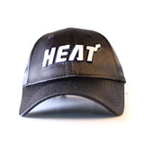 New ERA Miami HEAT Ladies Satin Team Charmer - 1