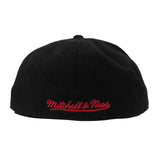 Mitchel & Ness Miami HEAT Patent 2T Tonal Fitted Hat - 2
