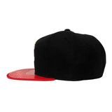 Mitchel & Ness Miami HEAT Patent 2T Tonal Fitted Hat - 3