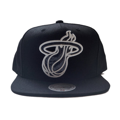 Mitchell & Ness Miami HEAT Hologram Snapback