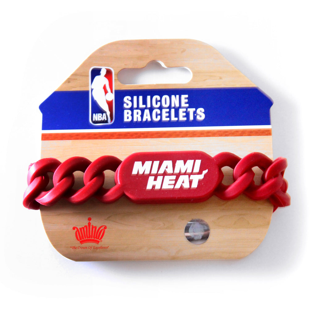 Miami HEAT Ribbon Bracelet - featured image